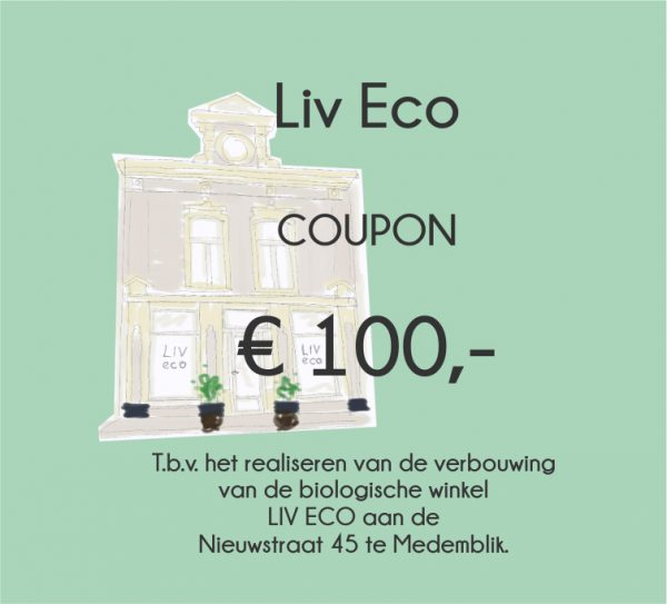 Coupon 100 euro Liv Eco